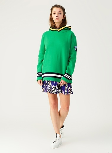 North Of Navy Sweatshirt Yeşil